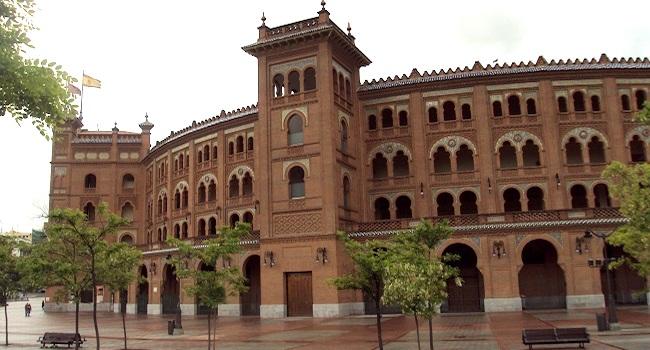 Plaza de Toros Las Ventas in Madrid - de grootste arena voor stierengevechten in Spanje