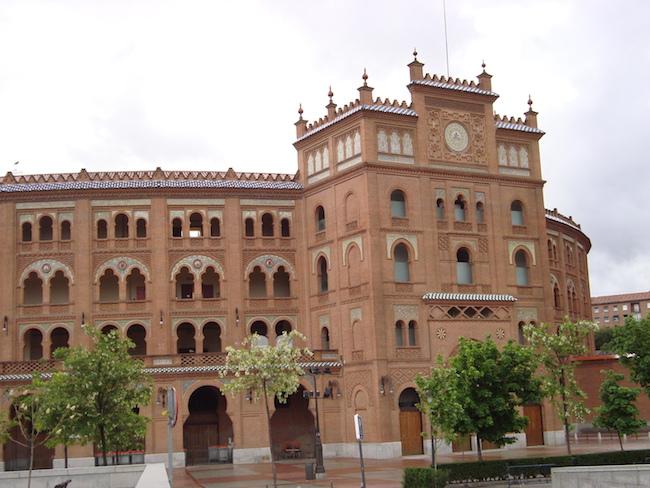 Stiervechtarena Las Ventas in Madrid (Spanje)