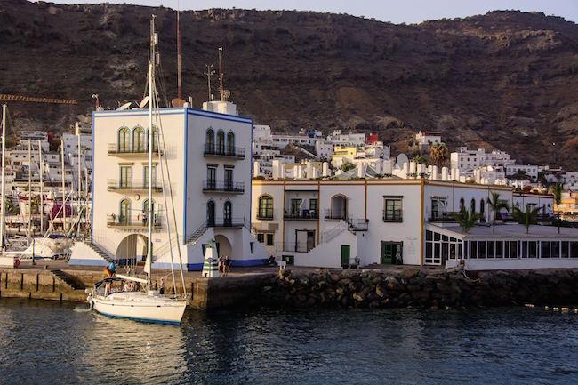 Vissersdorpje Puerto de Mogán op Gran Canaria (foto: Alex Martín Ross)