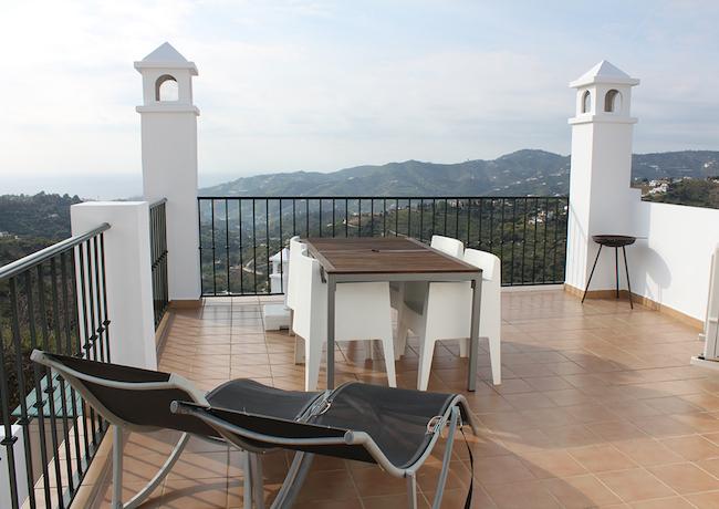Ons eigen appartement in Frigiliana (Malaga, Zuid Spanje)