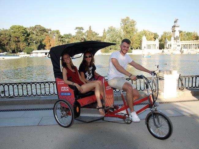 Verken Madrid vanuit een Rickshaw van Urban Travel