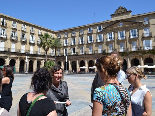 Een rondleiding met Elke van Basque Taste door Bilbao (Baskenland)