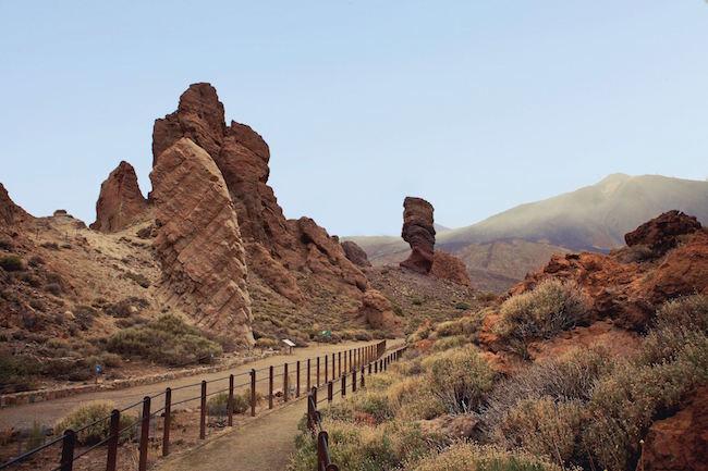 Roques de-Garcia in het Teide park op het Canarische eiland Tenerife