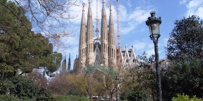 De Sagrada Familia in Barcelona, Catalonië