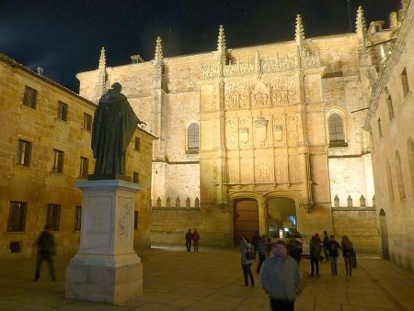 Universiteit van Salamanca (Midden Spanje) - de oudste universiteit van Spanje
