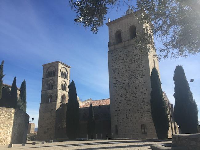 Santa Maria la Mayor kerk in Trujillo (Extremadura)