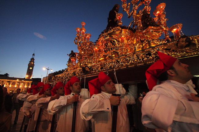 Santeros in Lucena (Caminos de Pasion gebied, Andalusië)