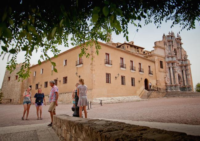 Santuario de Caravaca de la Cruz (Murcia, Zuid Spanje)