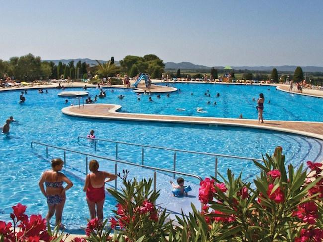 camping met zwemparadijs aan Costa Brava (Catalonië)