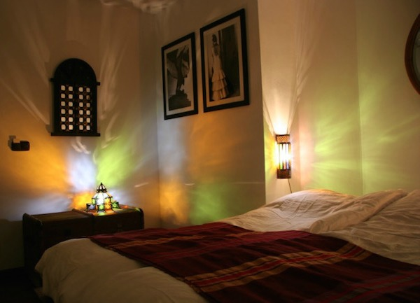 Een kamer in hotel La Posada del Angel