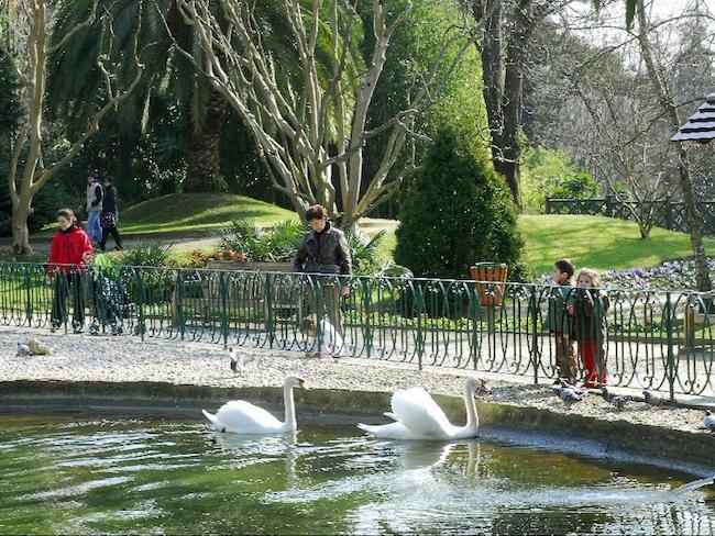 Stadspark Ajete in San Sebastian