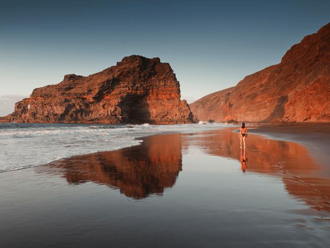 Een strand op het Spaanse eiland La Palma