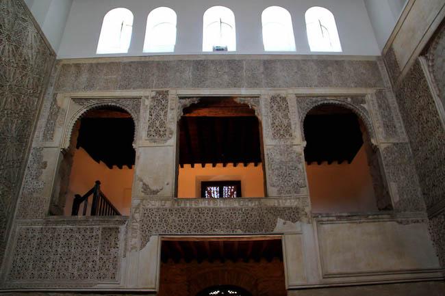 Goed bewaarde synagoge in de Joodse wijk van Córdoba
