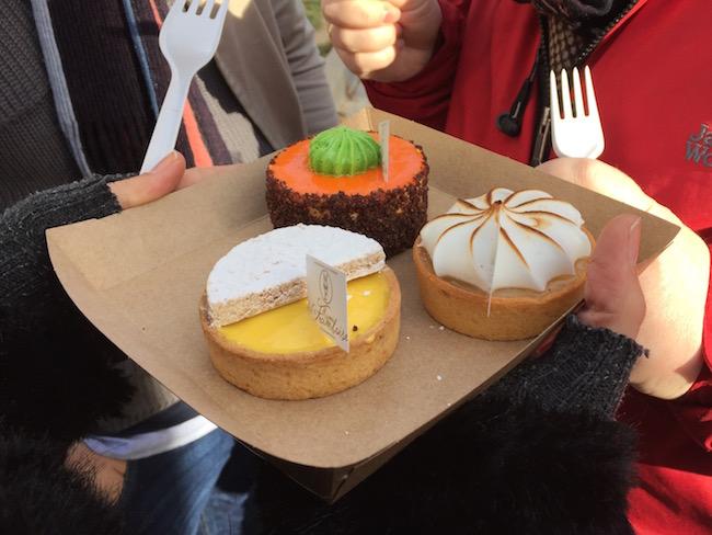 Goddelijke taartjes van Mamá Framboise bij Madreat (Madrid)