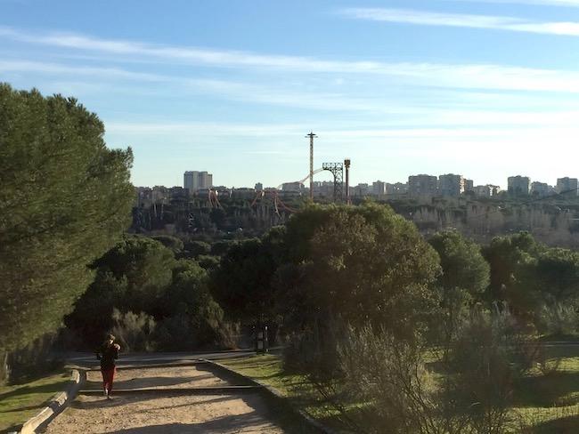 Het pretpark van Madrid in Casa del Campo