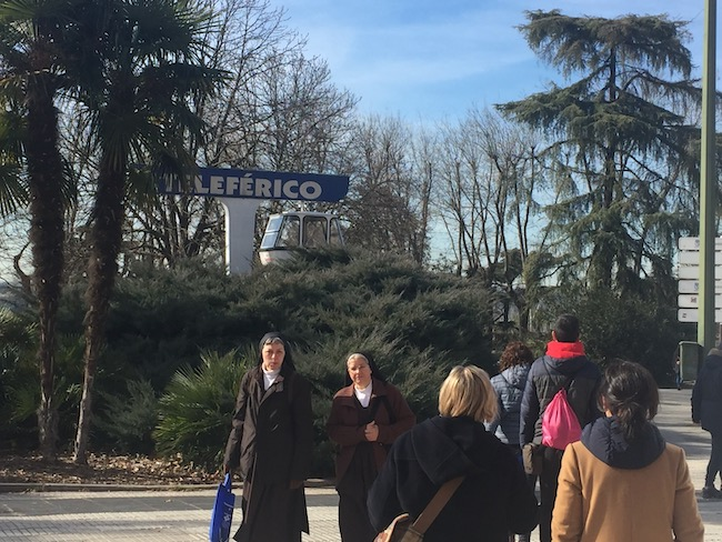 Eerste tekenen van de kabelbaan van Madrid!