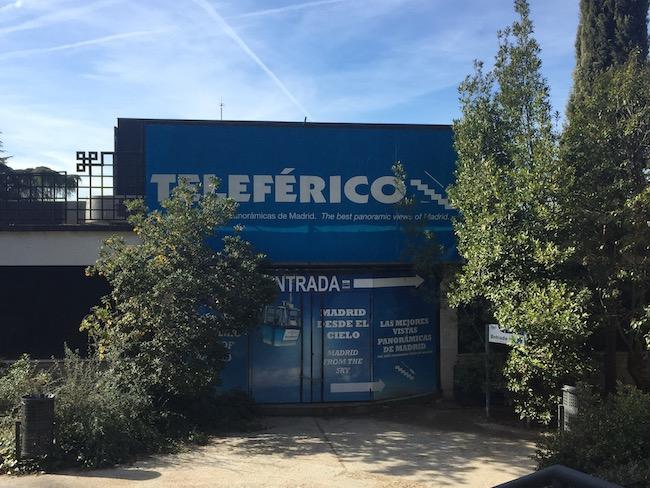 Ingang Teleférico Madrid