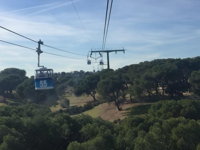 De Teleferico van Madrid - prachtige rit over Casa del Campo