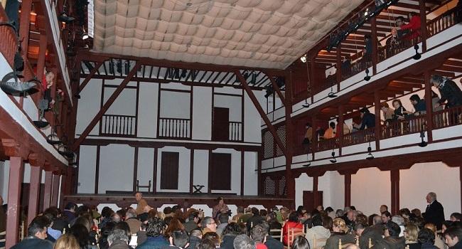 Het Corral de Comedias in Almagro (Castillië la Mancha, Midden Spanje)