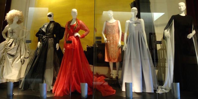 Originele kostuums in het theatermuseum van Almagro