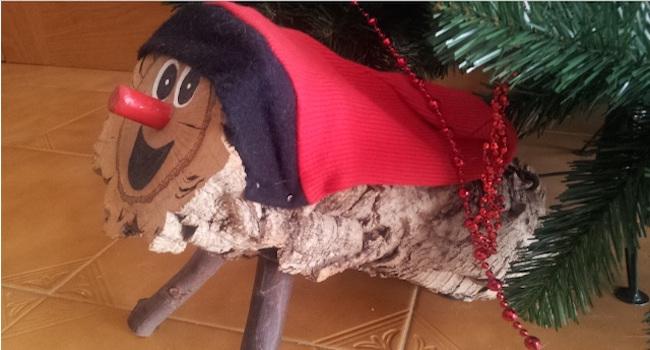 Tío de Nadal - een magische houtblok die cadeau's brengt voor kinderen; een leuke kersttradtie in Catalonië
