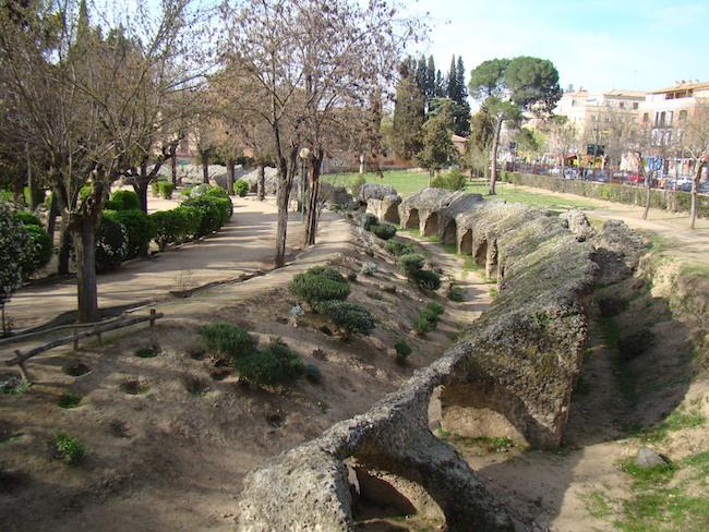 Bezoek de ruines van het Circo Romano tijdens je vakantie in Toledo!