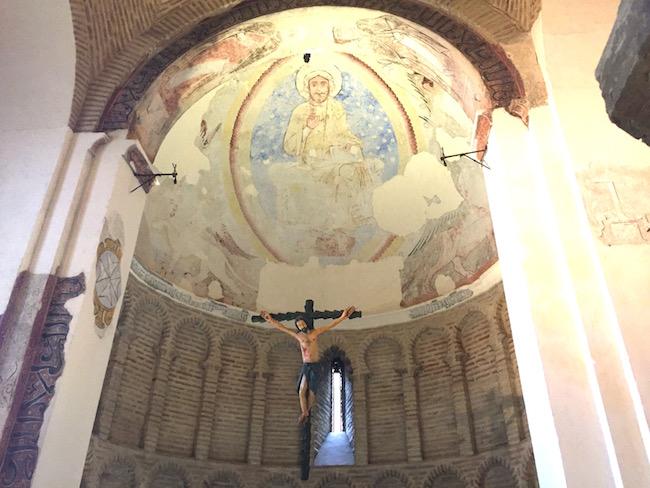 De Cristo de la Luz moskee in Toledo is naderhand als kerk gebruikt...