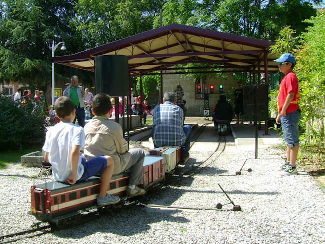 Treinmuseum Parque Ferroviario Carrileiros (Galicië, Noord Spanje)