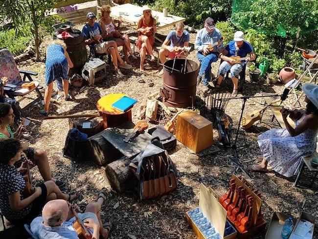 Muziek vakantie bij Ukulandia in binnenland Andalusië