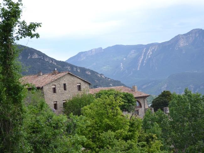 Verstopt in de uitlopers van de Spaanse Pyreneeën ligt vakantiehuis Vilaformiu