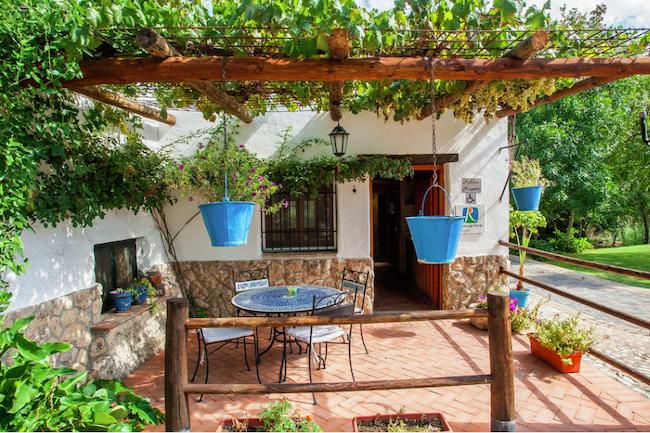 Vakantiehuis Misqueres op landgoed Molinos de Padul in de provincie Granada