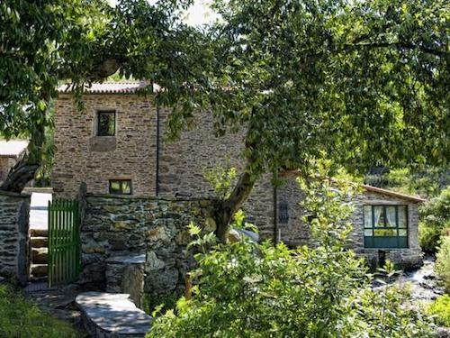 6-persoons vakantiehuis in oude molen buiten Santiago de Compostela (Galicië)