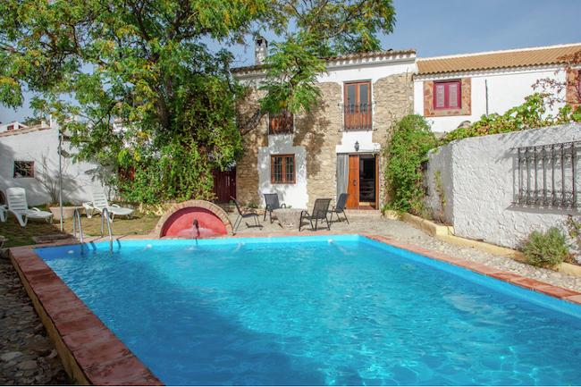 Casa el Molino - vakantiehuis met privé-zwembad in voormalige watermolen in Algarinejo (provincie Granada, Andalusië)