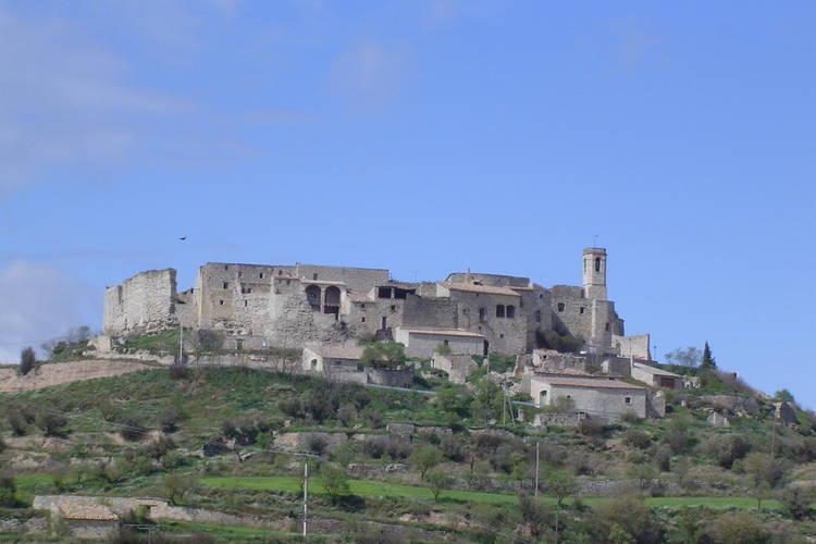 vakantiehuis in Catalonië in ommuring van kasteel