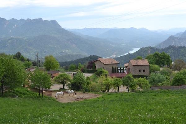 vakantiehuis in binnenlanden van Catalonië