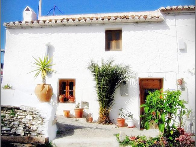 Een van de rurale vakantiehuizen van Castillejos Retreat in Zuid Spanje