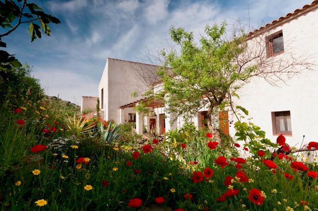 Vakantiehuizen in de boerderij van Finca las Nuevas bij Álora in Zuid Spanje