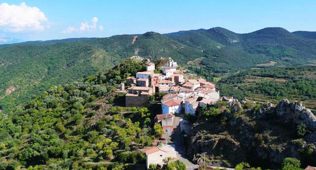 Juseu - een bergdorpje in Aragon aan de voet van de Spaanse Pyreneeën