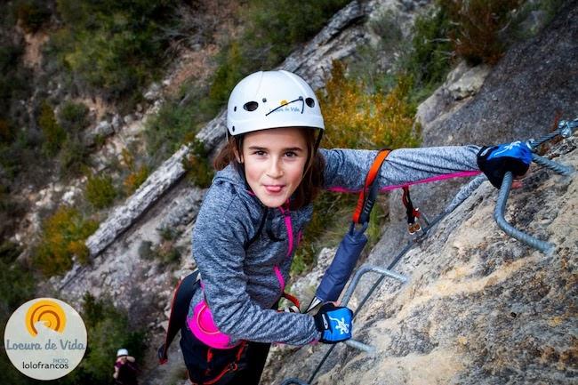 Vía Ferrata in Spaanse Pyreneeën met Locura de Vida