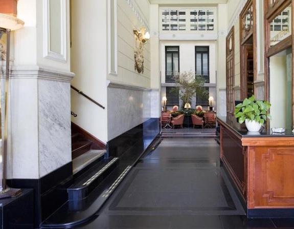 hotel in voormalig paleis in Madrid