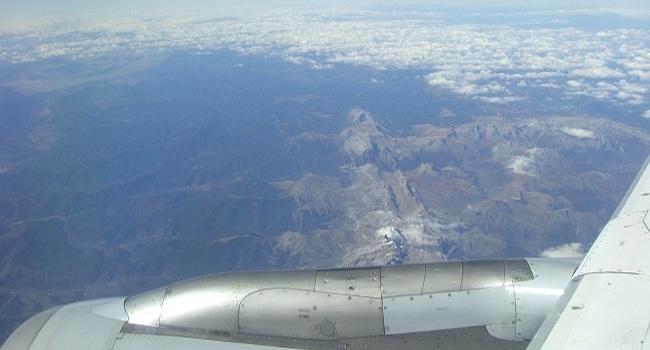 Met het vliegtuig naar Spanje
