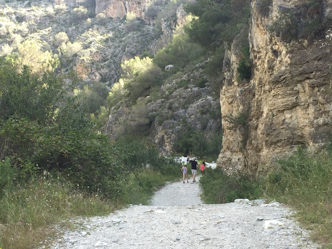 Wandeling vanuit Frigiliana in natuurpark Sierras de Tejeda, Almijara y Alhama