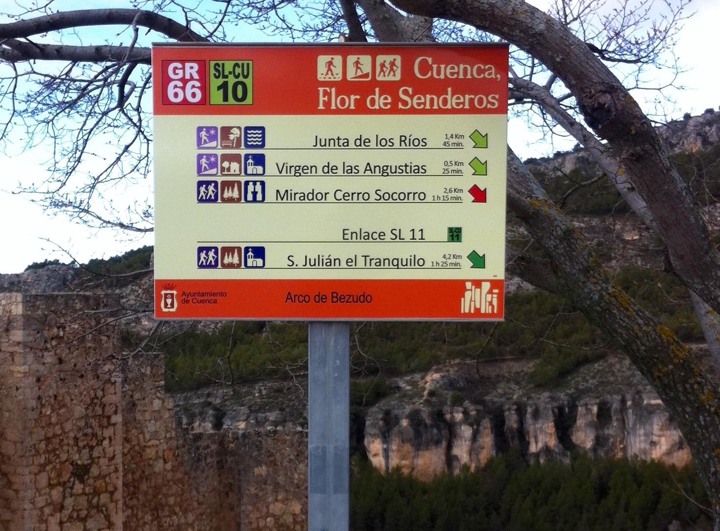 Wandelroutes in de omgeving van Werelderfgoedstad Cuenca
