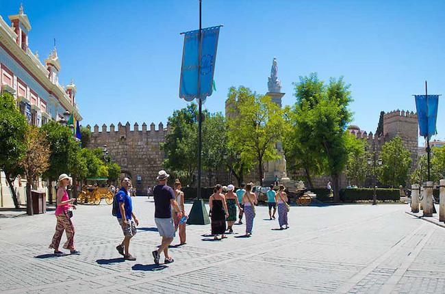 Wandeltour Sevilla Sights met Nederlandstalige gids