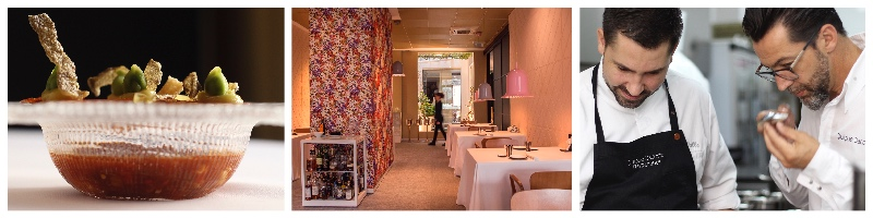 Michelin restaurant El Poblet in Valencia