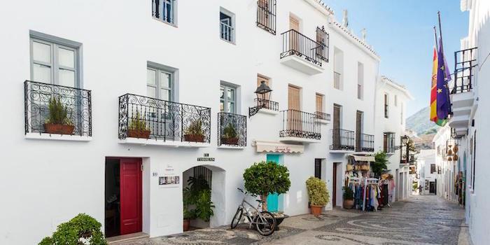 B&B El Torreon 109, een van de nieuwe B&B's in het historisch centrum van Frigiliana (Malaga, Andalusië, Zuid Spanje)