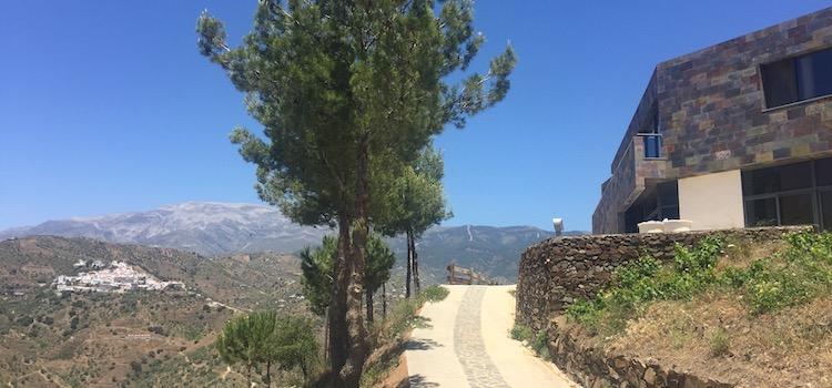 Bodegas Bentomiz in de bergen van Malaga (Andalusië)