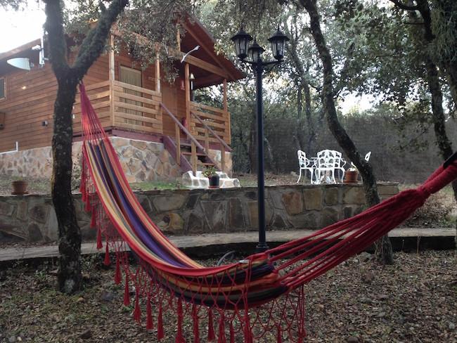 Vakantiehuisje Las Grullas van Ecolodge Cabañeros