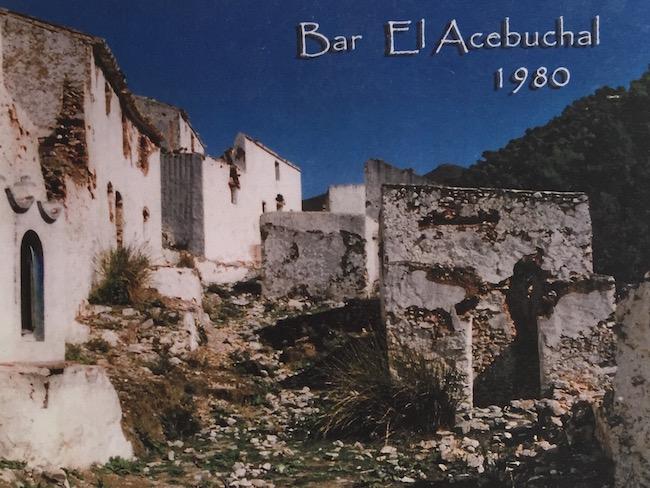 Zo zag El Acebuchal er uit in 1980