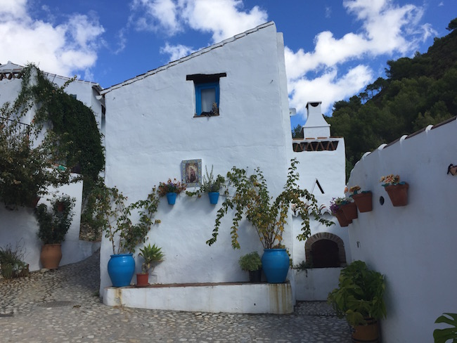 De voormalige oven van het dorpje El Acebuchal